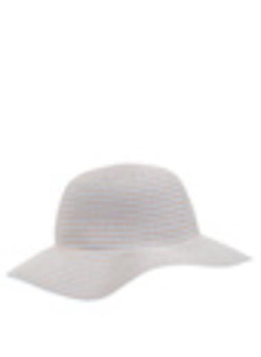 DeFacto Hasır Şapka Mavi
